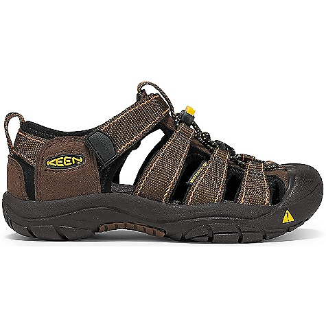 Surf Free Shipping. Keen Toddler Newport H2 Shoe FEATURES of the Kid's Newport H2 Shoe by Keen Grippy, non-marking rubber outsole Quick drying polyester webbing Secure-fit lace capture system with added adjustability over instep SPECIFICATIONS: Weight: 7.4 oz / 210 grams Gender: Boys, Girls Lining: Hydrophobic quick dry mesh Upper: Polyester Webbing Rubber: Non-marking rubber outsole Activities: Beach, Playground, Trails and Parks Type: Sandals Weather: Warm - sandals Product Care Instructions: All KEEN water sandals are machine washable and have been treated with AEGIS Microbe Shield, antimicrobial technology that helps prevent odor, staining and deterioration. Use a small amount of detergent, wash on gentle cycle and air dry. - $49.95
