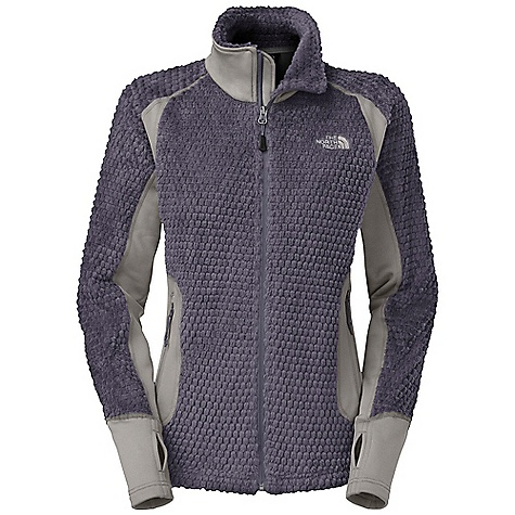 Free Shipping. The North Face Women's Grizzly Pack Jacket DECENT FEATURES of The North Face Women's Grizzly Pack Jacket Lightweight Polartec fleece hybrid with FlashDry side panels for stretch and breathability Two secure-zip hand pockets Hem cinch-cord Thumbholes Packable The SPECS Average Weight: 16.97 oz / 481 g Center Back Length: 25.5in. Body: 203 g/m2 (5.99 oz/yd2) 100% polyester Polartec Thermal Pro Panel: 70D 230 g/m2 (8.11 oz/yd2) FlashDry-93% polyester, 7% elastane This product can only be shipped within the United States. Please don't hate us. - $139.95
