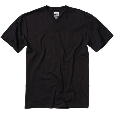 Surf Why rely on someone else to provide your shirt with a front logo The slim-fit Quiksilver Blank V-Neck T-Shirt comes with a blank front for you to add you own detail. - $19.00