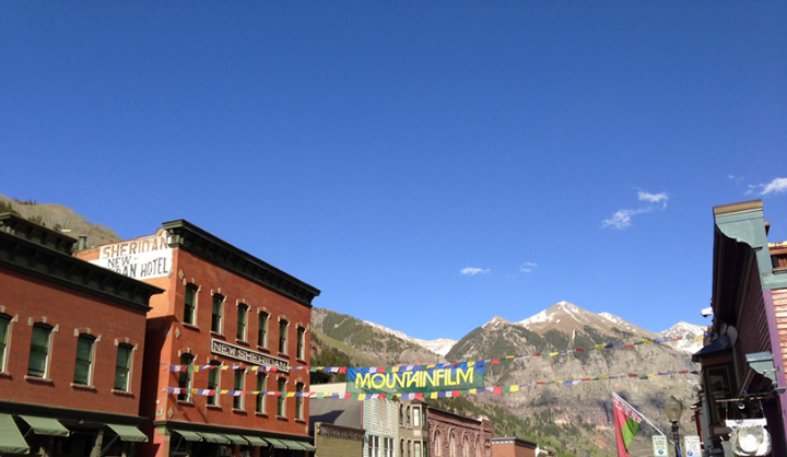 Entertainment We're at Mountainfilm in Telluride this weekend. http://bit.ly/12KrfOI   What are you up to for Memorial Day?