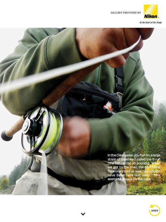 Flyfishing By Paolo Marchesi with Nikon Coolpix AW100