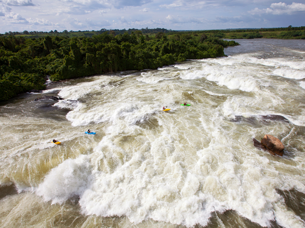 Kayak and Canoe Picture of the Congo White Water Kayking Expedition team