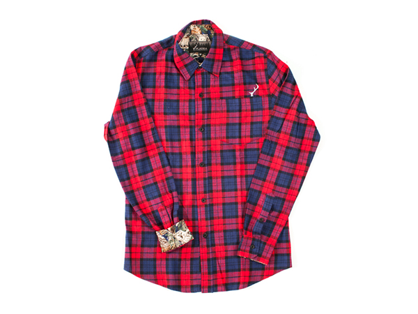 Camp and Hike Pladra Elli Flannel Shirt