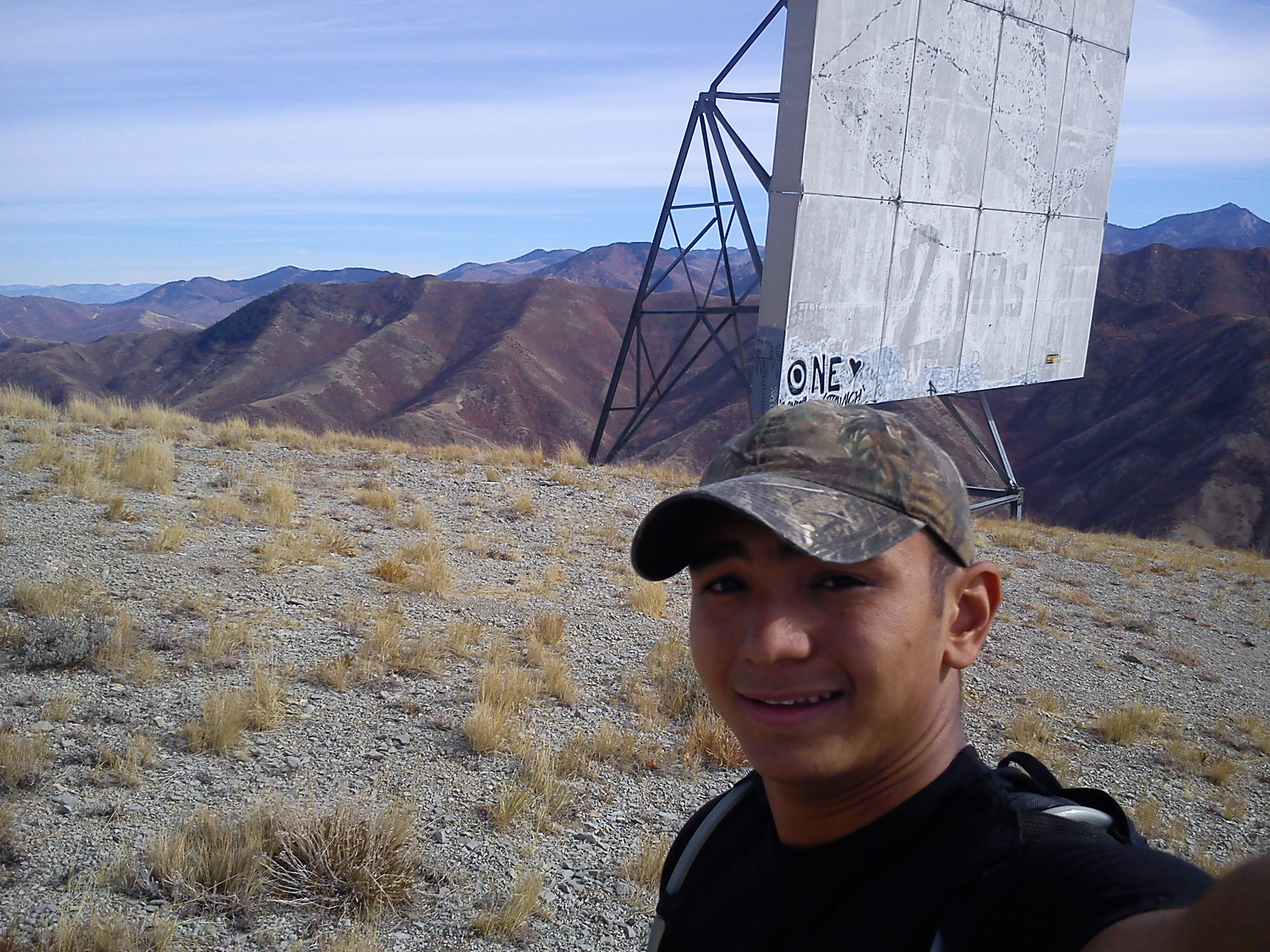 Camp and Hike Microwave transmitters at Mount Wire (Big Beacon) UT