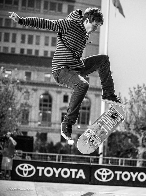 Skateboard Dew Tour