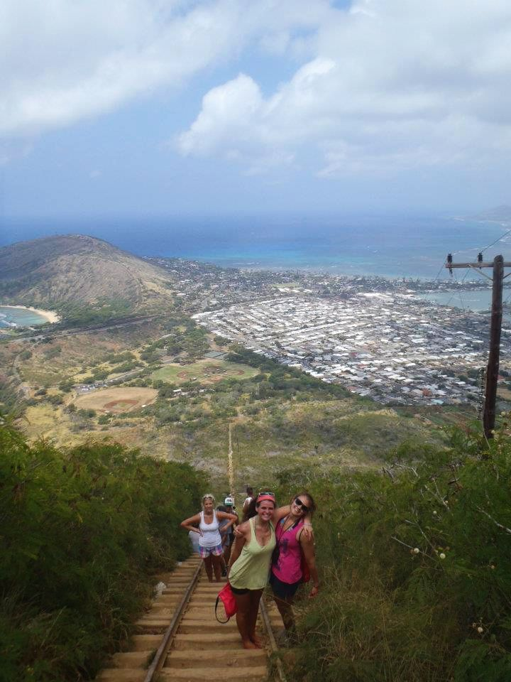Camp and Hike Koko Head. hawaii