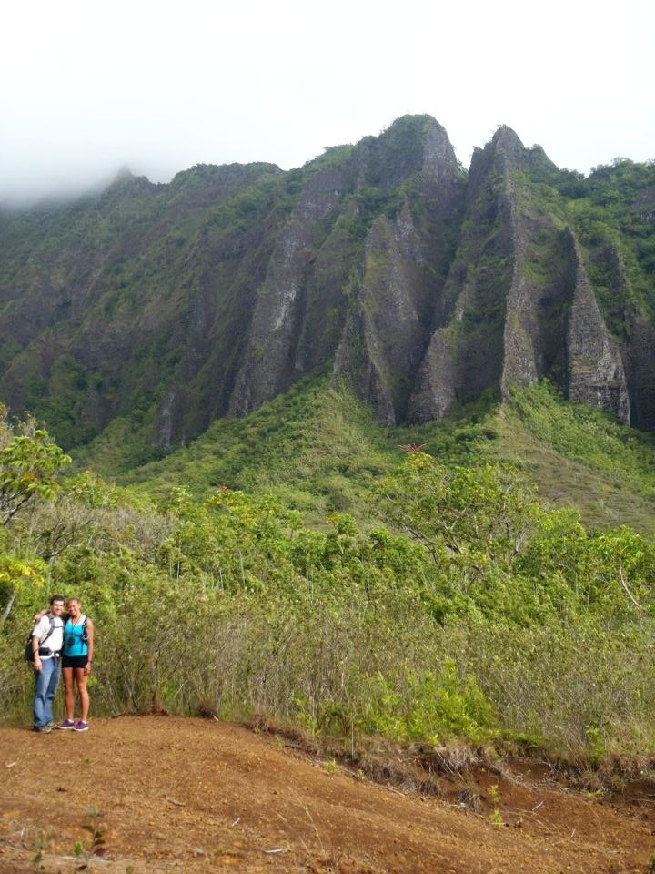 Camp and Hike Stairway to Heaven. Hawaii