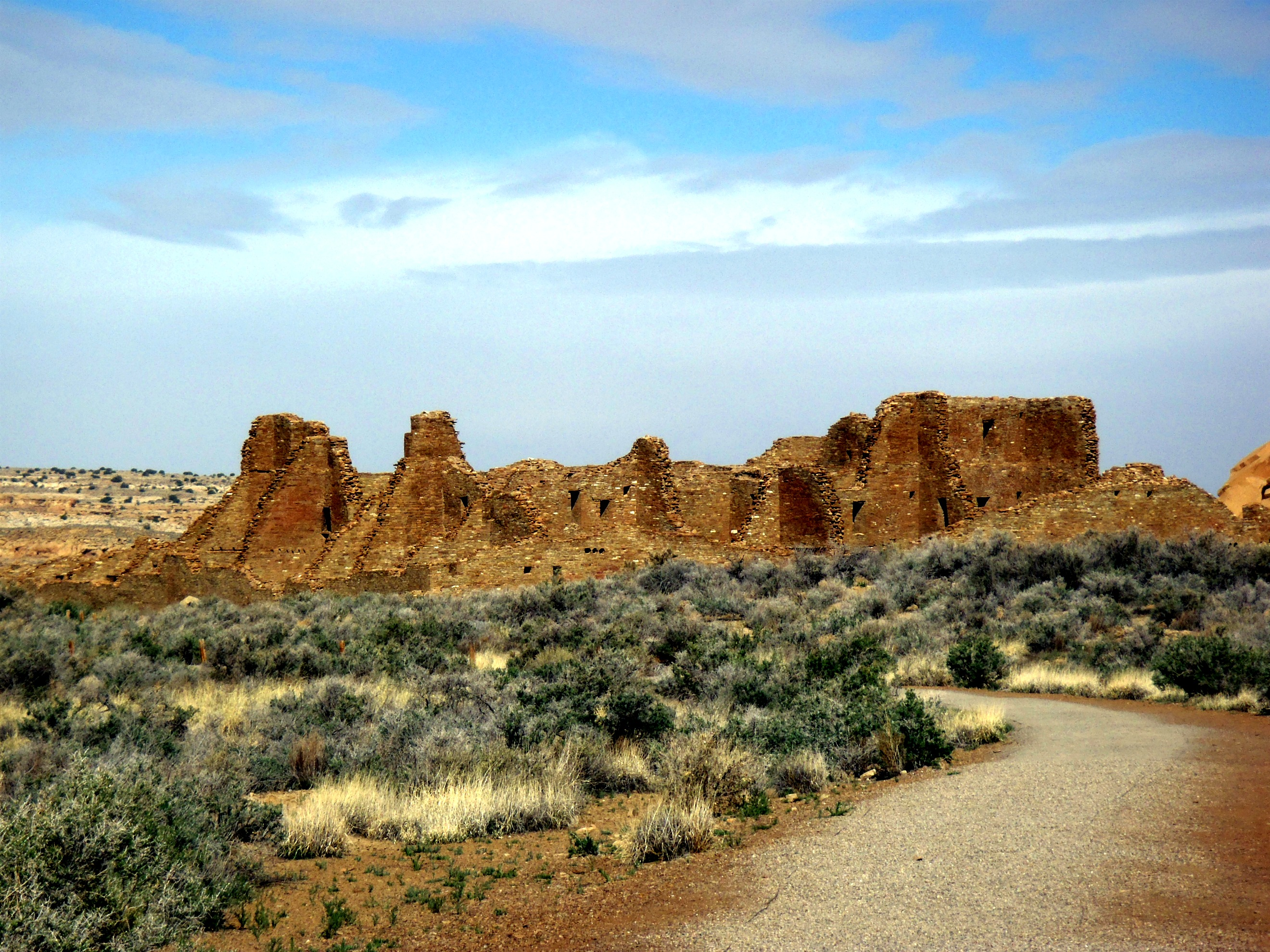 Camp and Hike Chaco Canyon