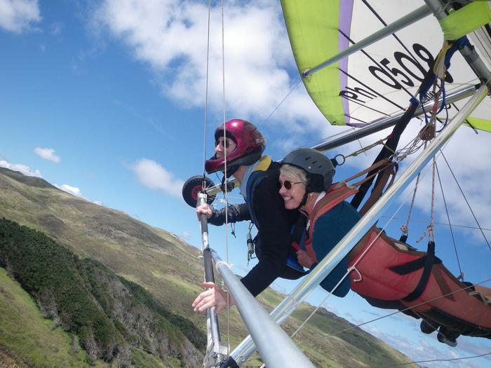 Extreme hang gliding