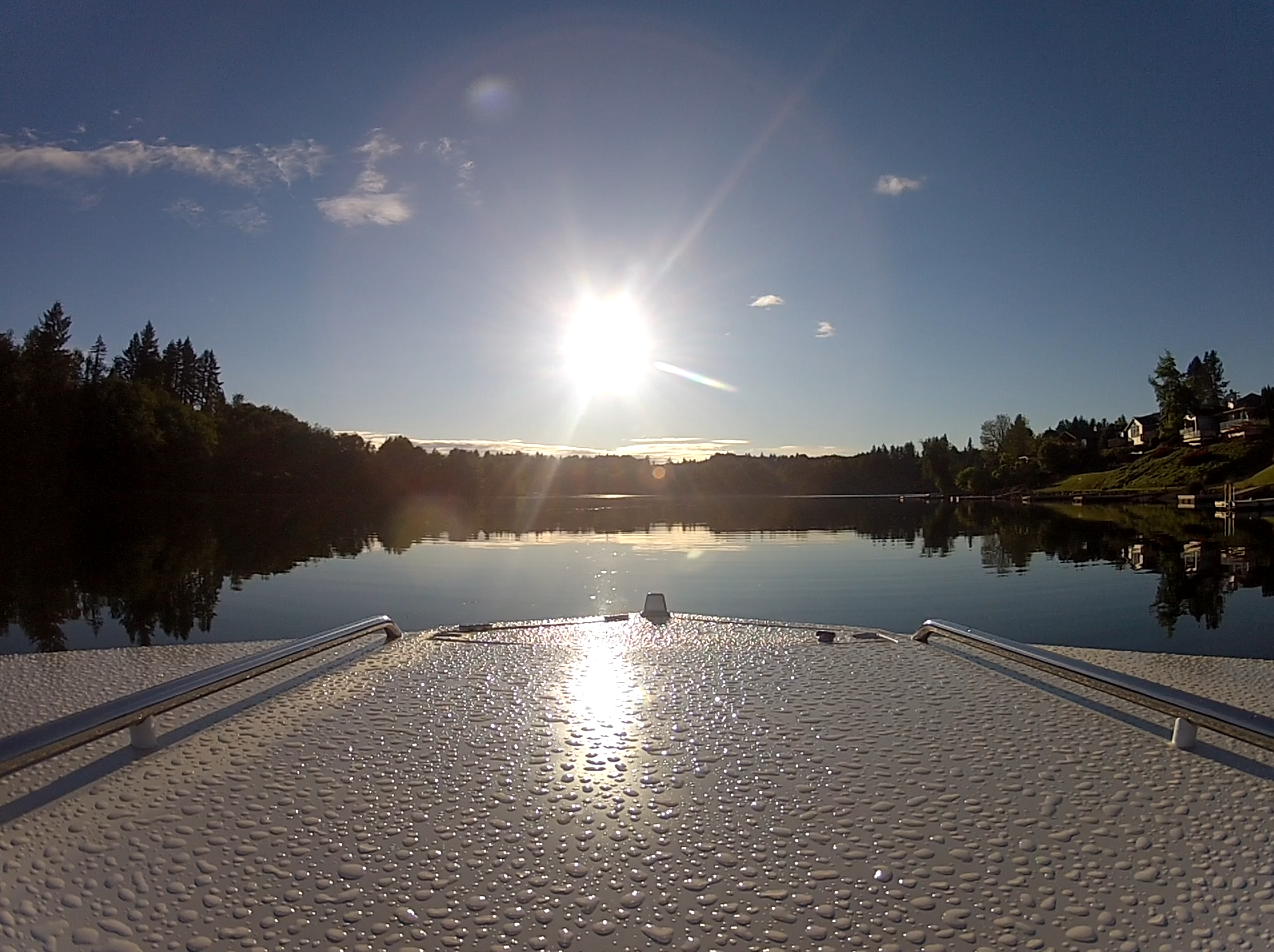 Wake Boat after the rain #FourWinns #Liberator201