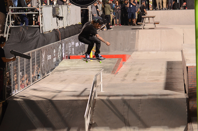 Skateboard awesome dew tour