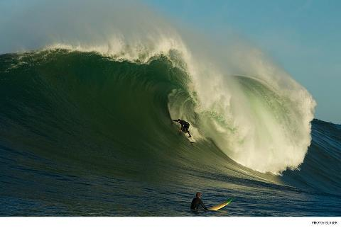 Surf A daunting look at one of the world's scariest waves, Mavericks. Photo: Todd Glaser Photography