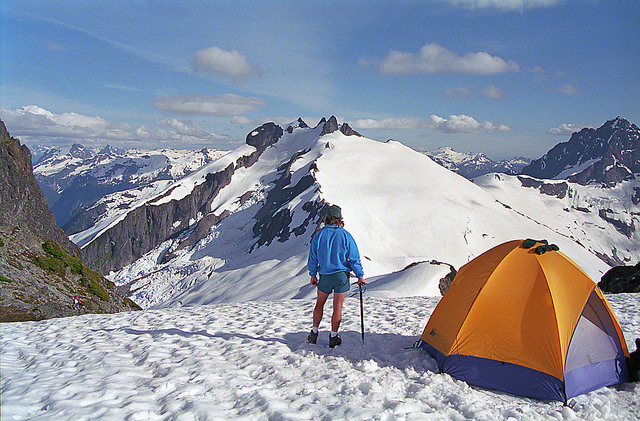Camp and Hike Icy Peak in the North Cascades of Washington State