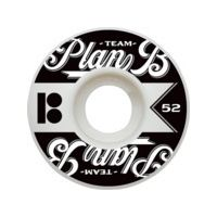 Skateboard Plan B National Skateboard Wheels - 52mm 99a (Set of 4)