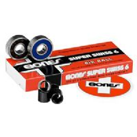Skateboard Bones Bearings - Bones Super Swiss 6 Swiss Skateboard Bearings
