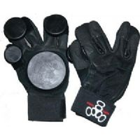 Skateboard Triple 8 Standard Black Large / X-Large Slide Gloves Downhill Slide Gloves