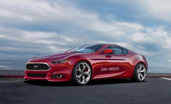Auto and Cycle 2015 Mustang.. I want this.