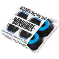 Skateboard Bones Wheels Hardcore Black / Blue Skateboard Bushings - Includes 4 Pieces - Soft