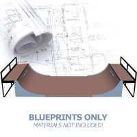 Skateboard Ramp Tech 4 Foot Halfpipe Skateboard Ramp Plans - Blueprints Only - 16 ft.