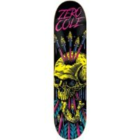 "Skateboard Zero Chris Cole Blacklight Skateboard Deck - 8.37"" x 32.25""