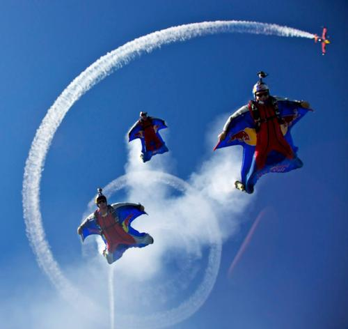 Extreme Red Bull Air Force