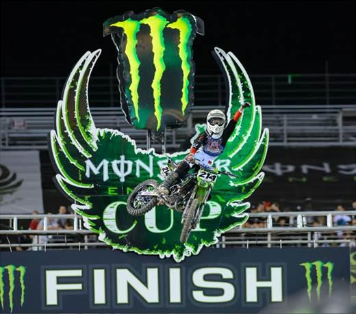 Motorsports ox Brigade team athlete, Austin Forkner won both motos in dominating fashion, in route to winning the 2012 Monster Cup Super Mini Championship. Congrats Austin!