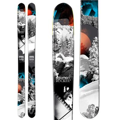 Ski Salomon Rocker2 108 Skis 2013    $649.99