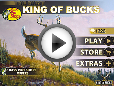 Hunting Bass Pro Shops - King of Bucks