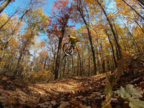 MTB GoPro athlete Brian Lopes shreds fall colors and rocks his new HERO3!