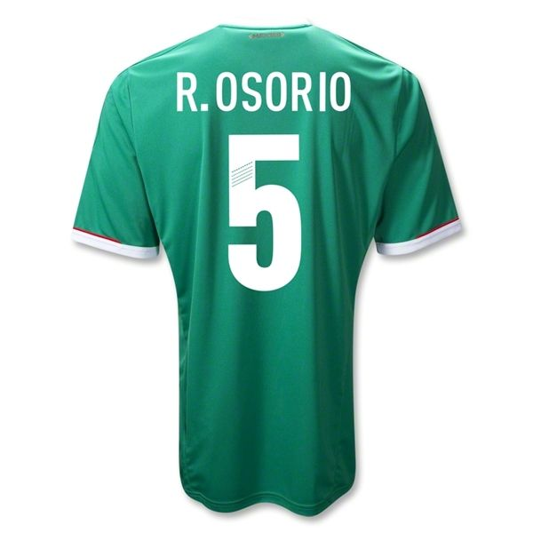 Sports R. OSORIO Mexico Home Soccer Jersey 2011/2012