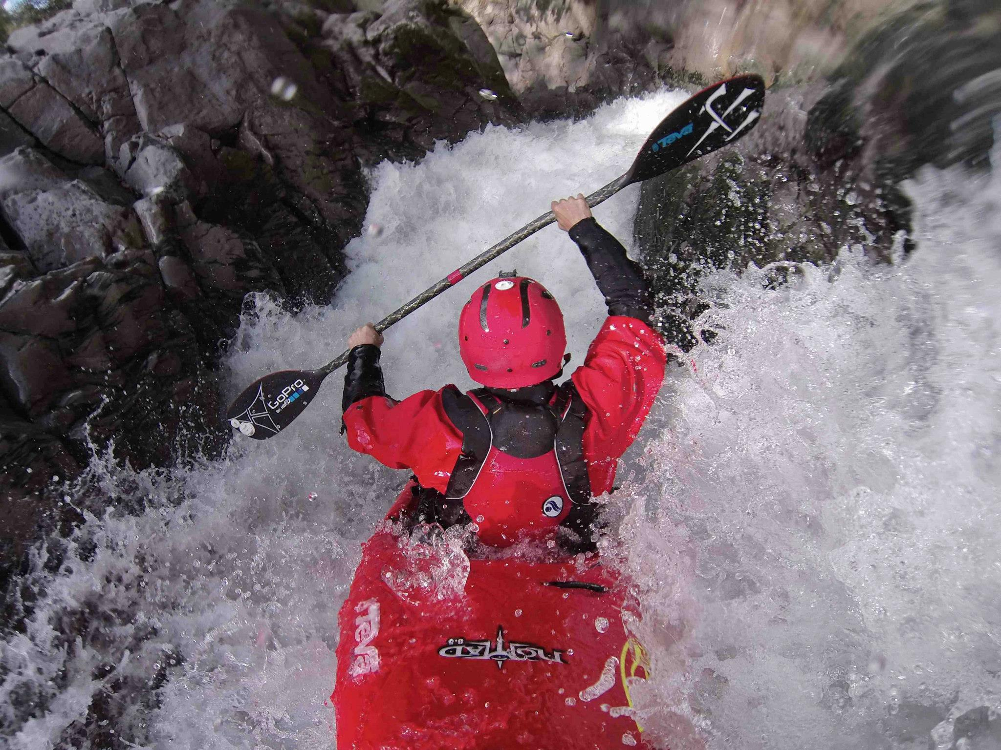 Kayak and Canoe Rush Sturges gets himself and his HERO3 in some tight spaces!