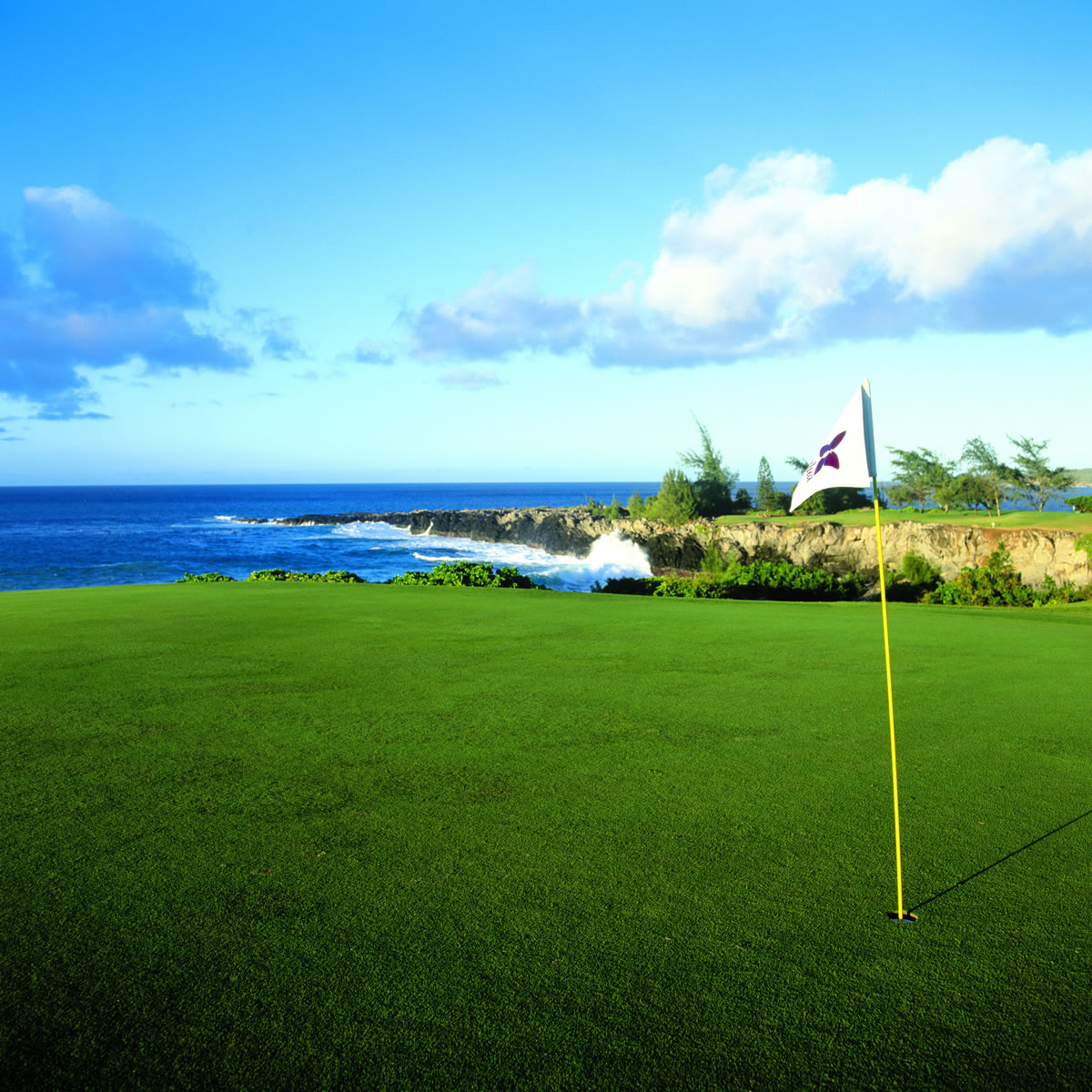 Golf The Bay Course at Kapalua, Hawaii