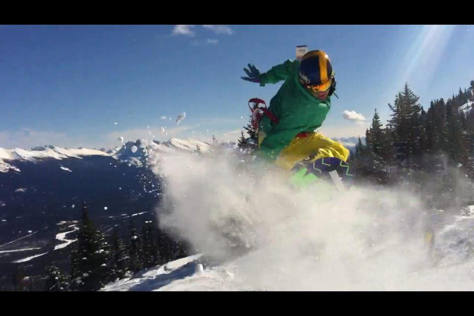 Snowboard Jasper season 2011-2012 cant wait to get back on the mountain
