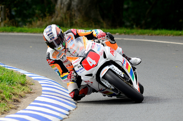 Motorsports Scarborough Gold Cup - John McGuinness