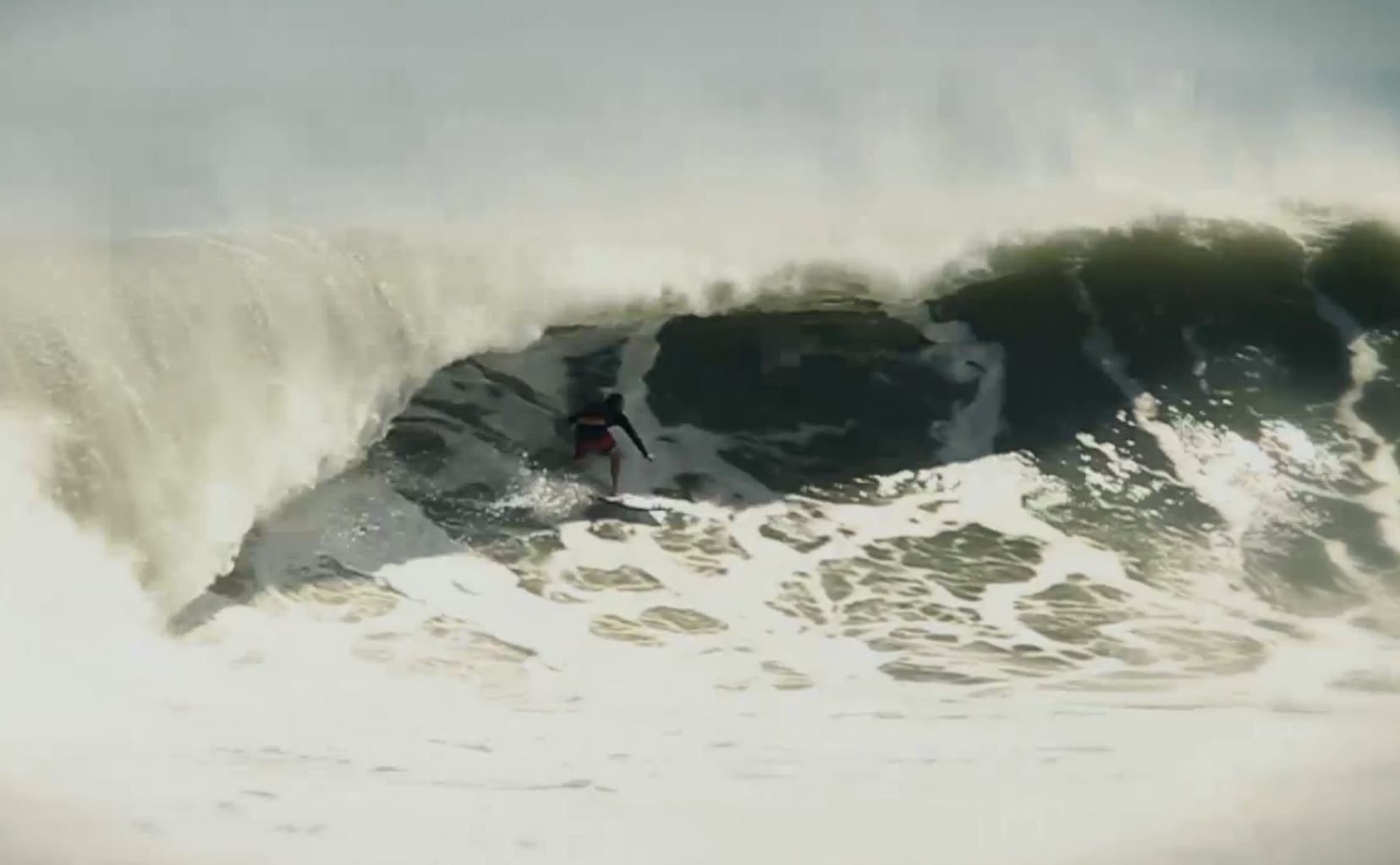 Surf this barrel by Pete Mendia was in Florida