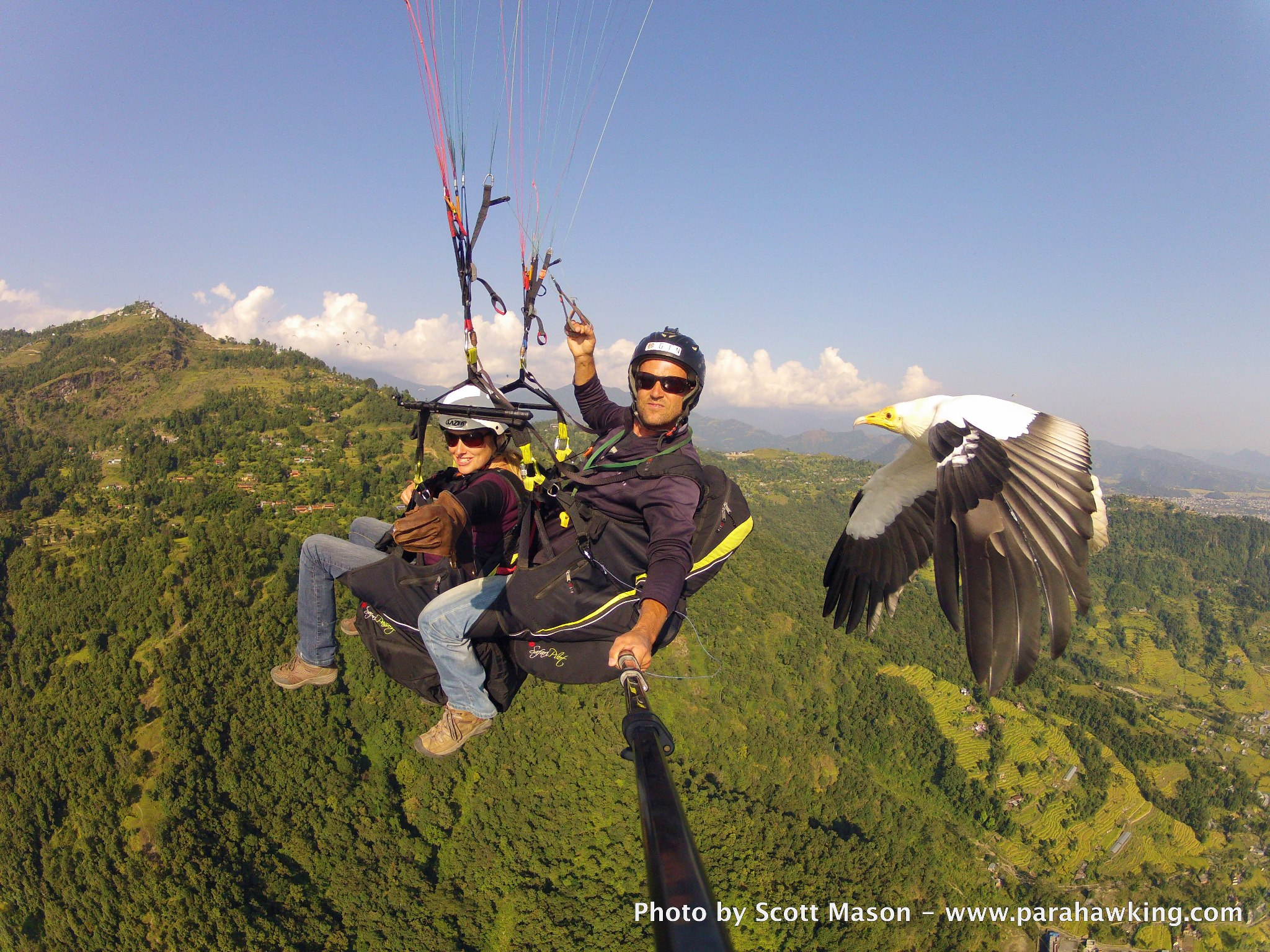 Extreme Parahawking in Nepal