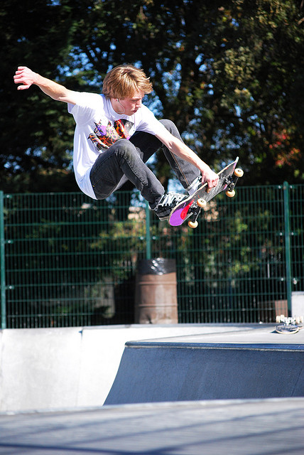 Skateboard Preston Platt - Front Air
