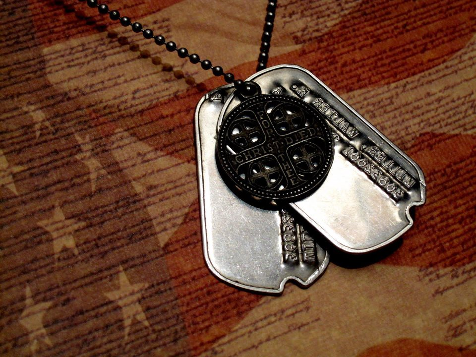 Guns and Military My grandpa's dogtags