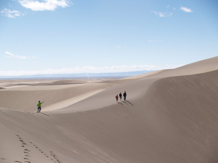 Camp and Hike National Sand Dunes, Colorado