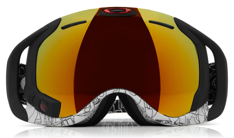 Snowboard oakley airwave HUD + GPS goggles