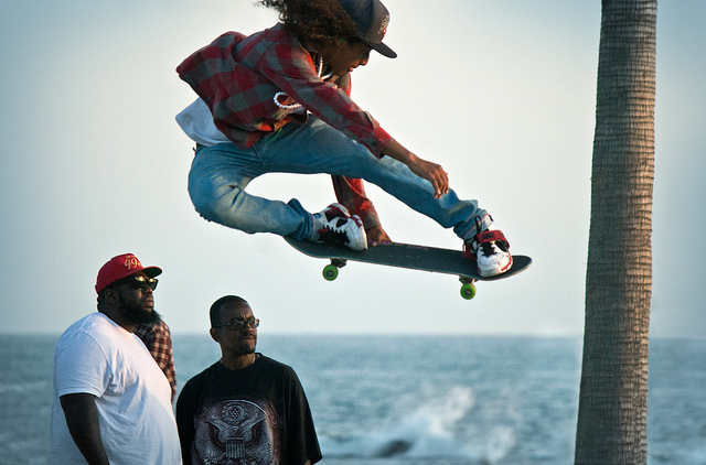 Skateboard skybound