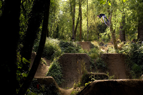MTB Justin Inman. Salem, Oregon.