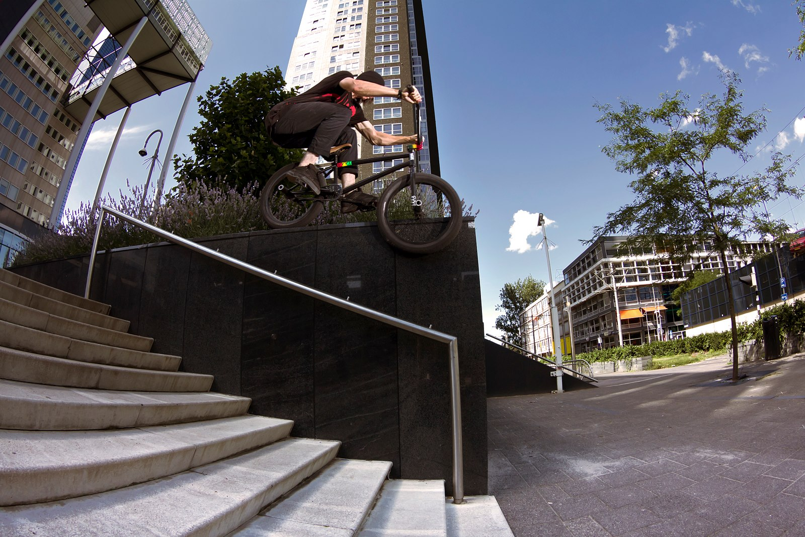 BMX rad photos from Aaron Zwaal which he shot while in Rotterdam