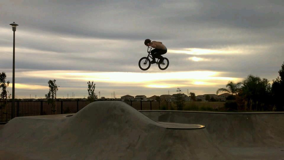 BMX Justin ZipTies Scharlack