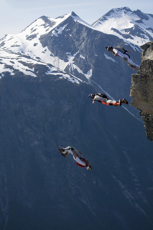 Extreme Shane McConkey in Norway