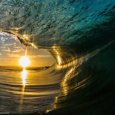 Surf Awesome Sunset