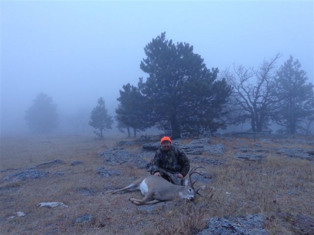 Hunting Black Hills of Wyoming.