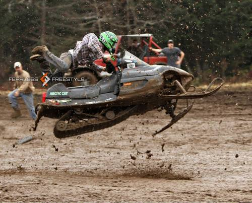 Snowmobile Taking redneck to a whole new level