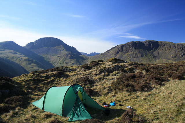 Camp and Hike Wild camp on Hay Stacks