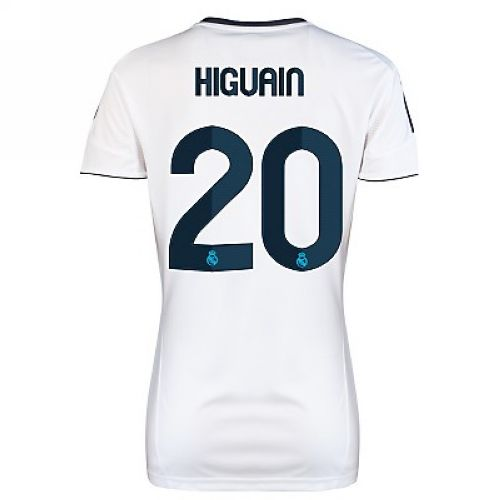 Entertainment Women's Higuain Real Madrid Home Soccer Jersey 2012/2013